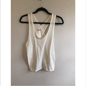Kimchi Blue sleeveless top with cross cross back